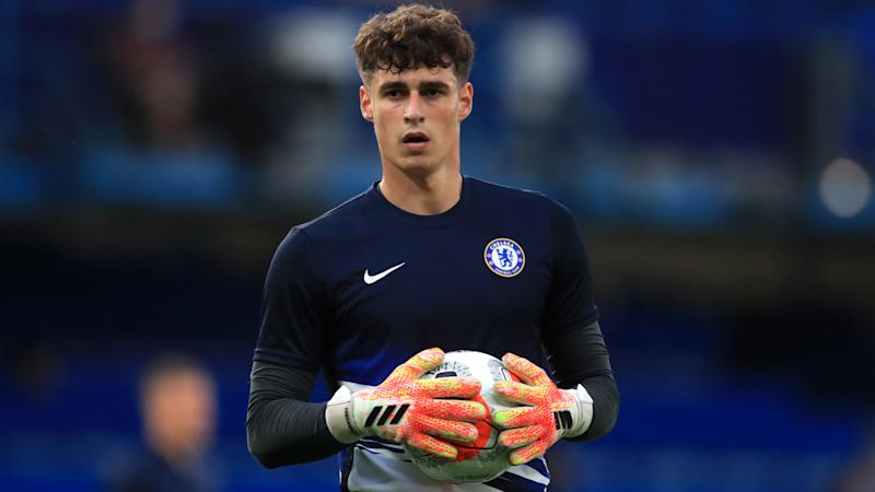 Lampard not rushing Kepa decision after dropping Chelsea goalkeeper