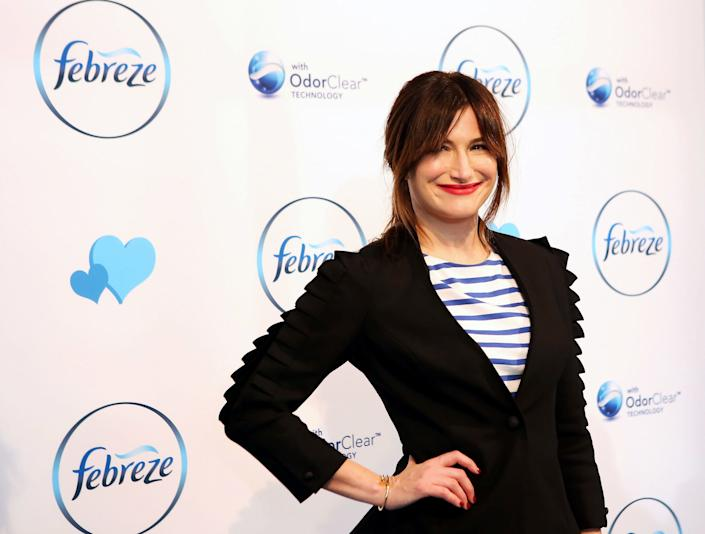"""Kathryn Hahn appears to help launch the """"I Love You, But Sometimes You Stink"""" Febreeze Campaign at The IAC Building on January 26, 2017 in New York City. (Photo by Donna Ward/Getty Images)"""