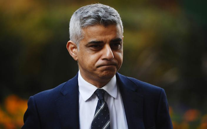 Sadiq Khan has repeatedly butted heads with Downing Street - Getty