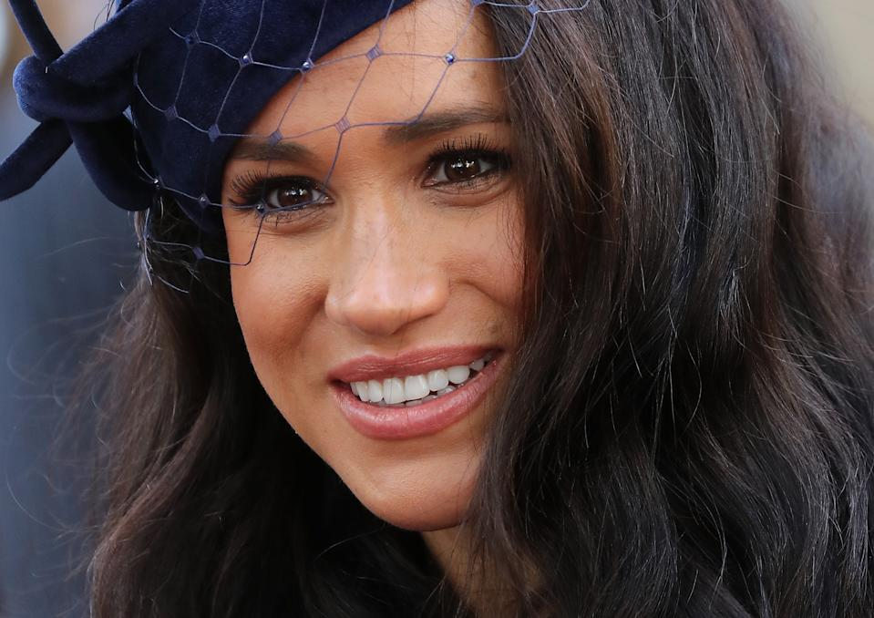 The Duchess of Sussex, photographed at the 91st Field of Remembrance at Westminster Abbey in November 2019, has played a crucial part in the success of the Sussex Royal Instagram account [Photo: Getty]