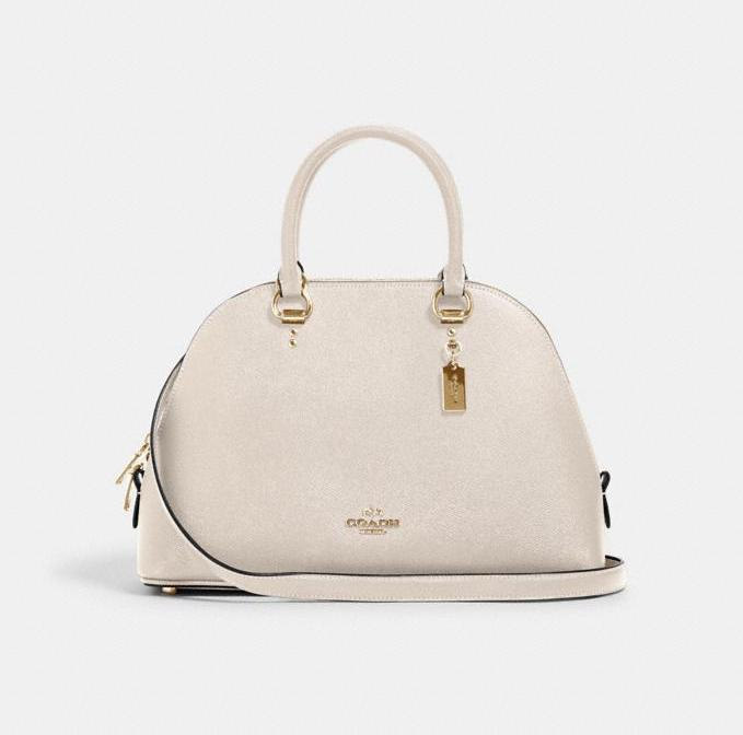 Katy Satchel. Image via Coach Outlet.