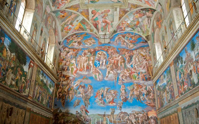 The Sistine Chapel - getty