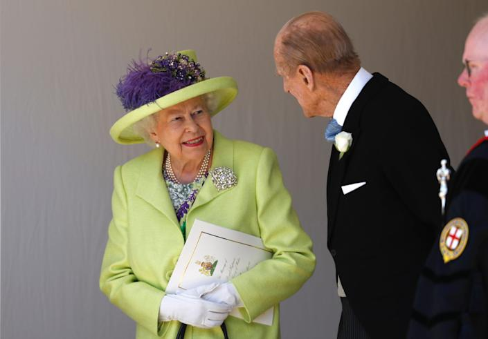 queen and prince philip 2018