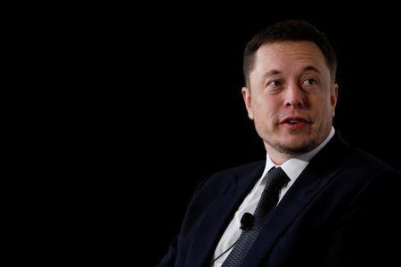 Elon Musk, founder, CEO and lead designer at SpaceX and co-founder of Tesla, speaks at the International Space Station Research and Development Conference in Washington, U.S., July 19, 2017. REUTERS/Aaron P. Bernstein