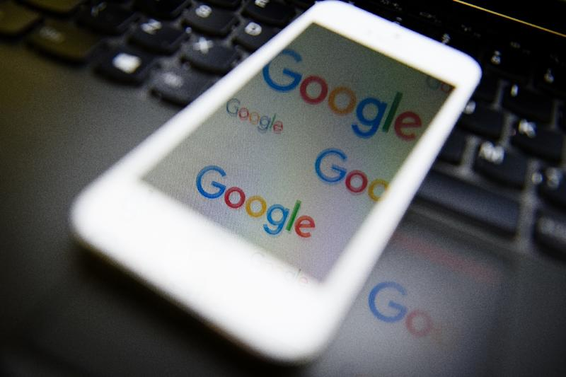 EU plans to make Google pay for the news it displays are making the internet giant furious (AFP Photo/LEON NEAL)