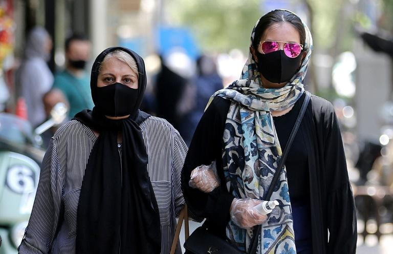 Iran's government has told people to wear masks in enclosed public spaces or when gathering in groups