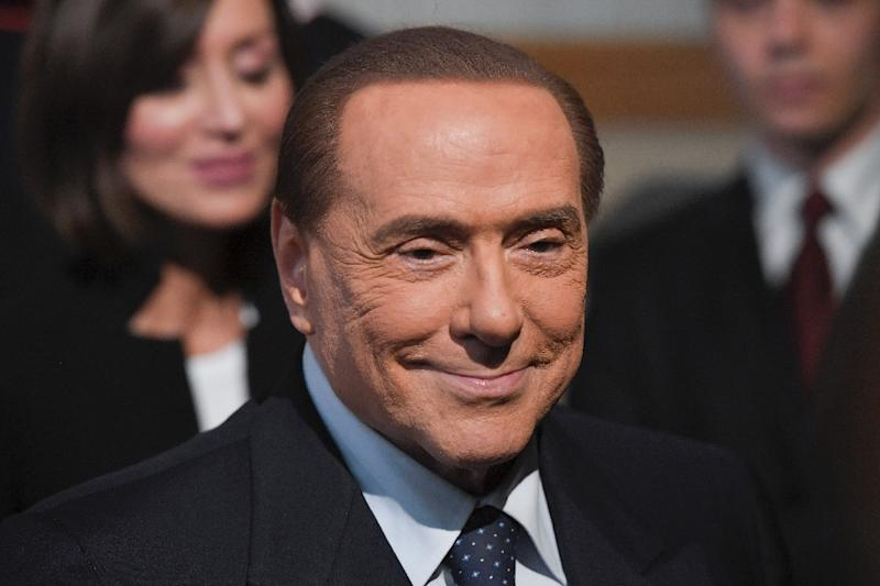 The declaration doesn't stop Berlusconi from running in the EU elections, which in Italy are held on Sunday