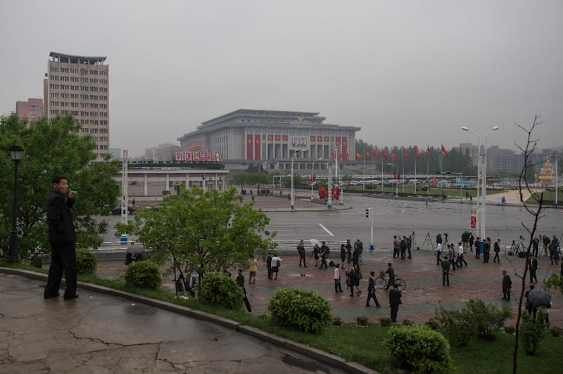 North Korea has held the first Workers' Party congress in more than 35 years at the 'April 25 Palace' in Pyongyang (AFP Photo/Ed Jones)