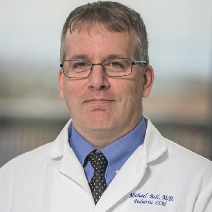 Dr. Michael Bell, division chief for critical care medicine at Children's National Hospital in Washington, D.C. (Children's National Hospital)