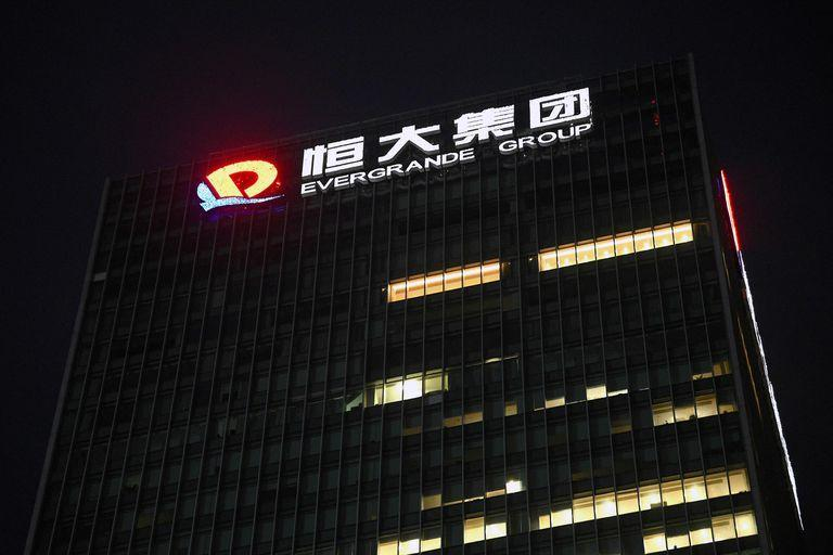 The Evergrande headquarters is seen in Shenzhen, southeastern China on September 14, 2021, as the Chinese property giant said it is facing