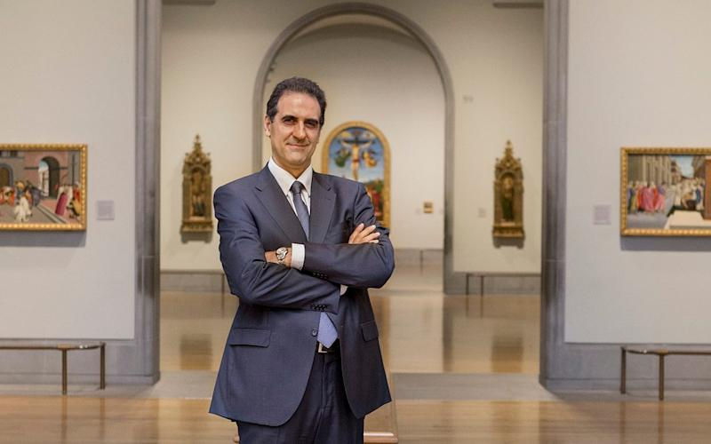 Welcome back: director Gabriele Finaldi is about to open his doors again - National Gallery