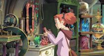 """<p><strong>Netflix's Description:</strong> """"Ordinary girl Mary picks an extraordinary flower and travels to Endor College, a school for magic. But its foremost teachers have a sinister plan.""""</p> <p><a href=""""https://www.netflix.com/title/80217130"""" class=""""link rapid-noclick-resp"""" rel=""""nofollow noopener"""" target=""""_blank"""" data-ylk=""""slk:Stream Mary and the Witch's Flower on Netflix!"""">Stream <strong>Mary and the Witch's Flower</strong> on Netflix!</a></p>"""