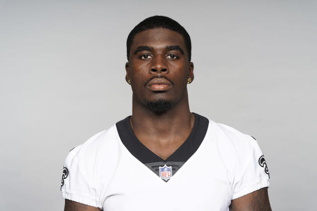 "A Wyoming judge sentenced <a class=""link rapid-noclick-resp"" href=""/nfl/teams/new-orleans/"" data-ylk=""slk:New Orleans Saints"">New Orleans Saints</a> rookie Carl Granderson to six months in jail after rejecting a plea agreement in his sexual battery case. (AP)"