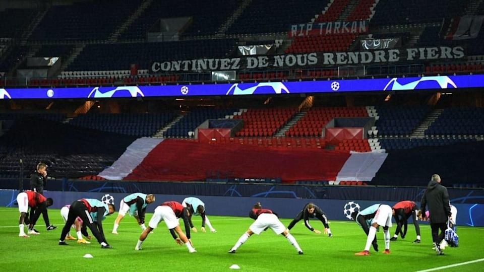 Champions League no Parque dos Príncipes. | FRANCK FIFE/Getty Images