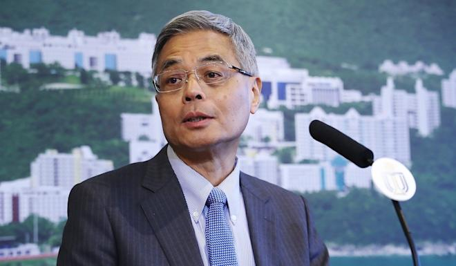 Professor Wei Shyy, president of Hong Kong University of Science and Technology, has contacted Link Reit to request the related CCTV footage from the car park. Photo: Edward Wong