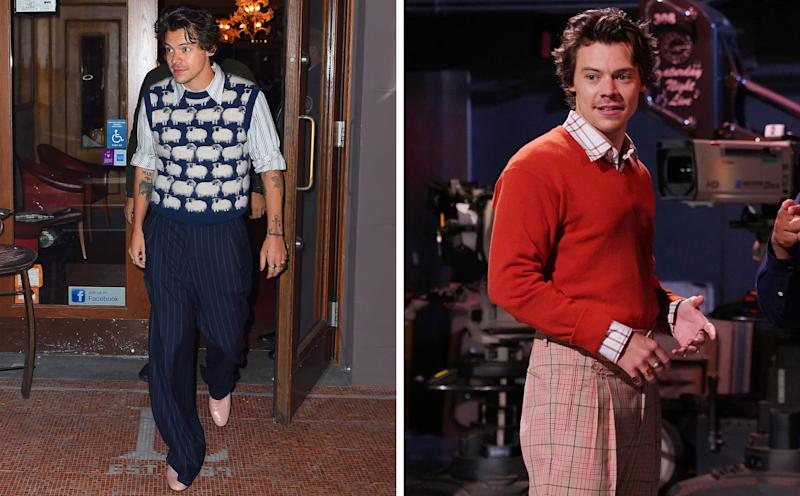 We can't believe it either: Harry Styles is the first-ever back-to-back #BigFitoftheDay king.