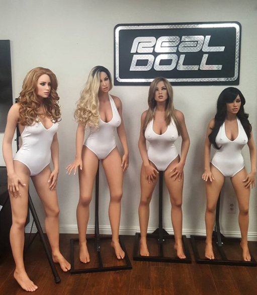 Robotix's Harmony can be customised to come in variety of shapes and looks. Photo: Instagram/abyssrealdoll