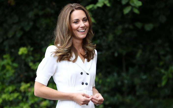 The Duchess of Cambridge during a visit to Baby Basic UK & Baby Basics Sheffield in Sheffield Baby Basics is a volunteer project supporting families in need struggling to provide for their newborns. - Chris Jackson/PA