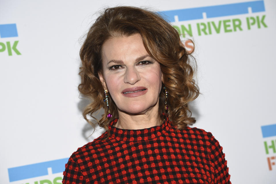Actress Sandra Bernhard attends the annual Hudson River Park Gala at Cipriani South Street on Thursday, Oct. 17, 2019, in New York. (Photo by Evan Agostini/Invision/AP)