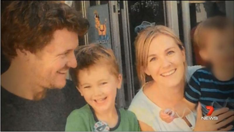 A picture of happiness: the Janzow family before the tragic events that led to Luca's death.