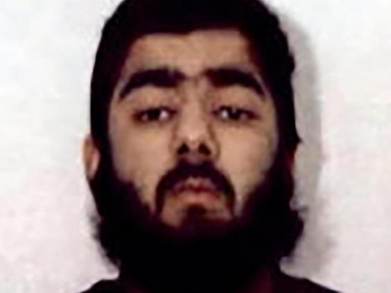 Khan, who was imprisoned for six years for terrorism offences before his release last year, killed two people in the London Bridge terror attack in November (AP)