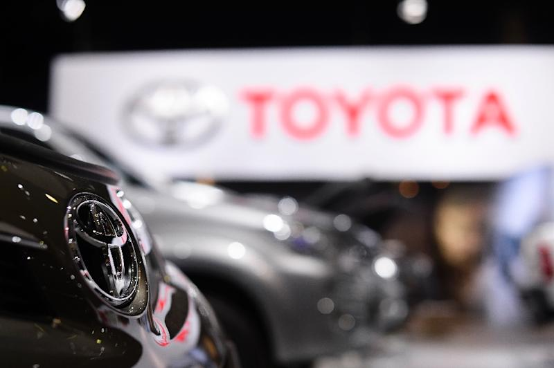 Toyota says it will now globally expand its recalls to involve approximately 2,860,000 additional vehicles equipped with certain front passenger airbag inflators (AFP Photo/Laurie Dieffembacq)