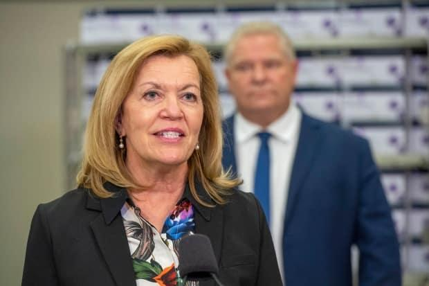 Ontario Health Minister Christine Elliott speaks at he daily briefing at Humber River Hospital in Toronto on Tuesday November 24, 2020.  THE CANADIAN PRESS/Frank Gunn (Frank Gunn/The Canadian Press - image credit)