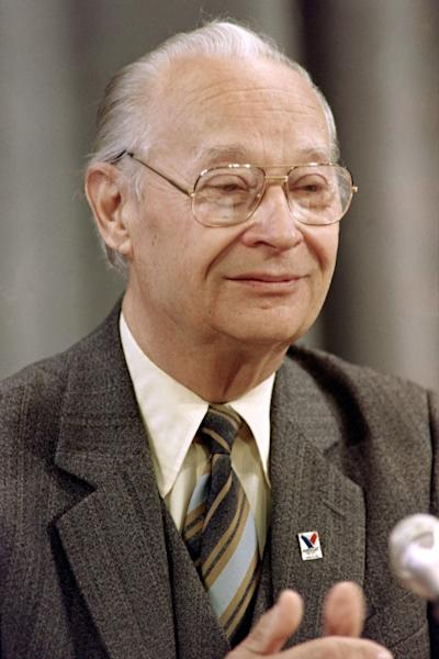 Prague Spring leader Alexander Dubcek, shown here as he gave a speech in Moscow in 1990, died two years later. He was arrested in the early hours of the invasion