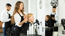 """<p><strong>Hairstylist median salary:</strong> $24,900</p> <p><strong>Manicurist median salary:</strong> $23,230</p> <p>As anyone can attest, a really good haircut can make you feel great about yourself. Helping others look their best, from hair to nails, also happens to offer a balanced lifestyle.</p> <p>Although these professionals can work nights and weekends, schedules depend on the business and clientele. If you're working at a salon that serves the after-hours business crowd, then expect your schedule to mirror that. If your salon's primary customers are stay-at-home moms or work-from-home professionals, however, the daytime could be your busiest.</p> <p>Some cosmetologist skip conventional careers in a salon and use social platforms like <a href=""""https://www.gobankingrates.com/making-money/entrepreneur/how-to-make-money-on-youtube/"""" rel=""""nofollow noopener"""" target=""""_blank"""" data-ylk=""""slk:YouTube and Instagram to make money from their tutorials."""" class=""""link rapid-noclick-resp"""">YouTube and Instagram to make money from their tutorials.</a></p>"""