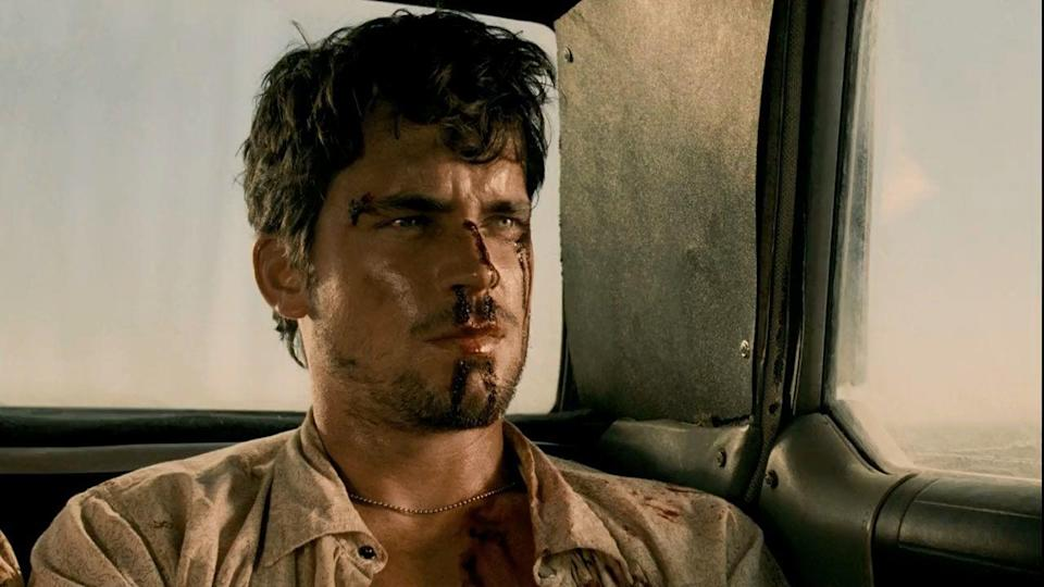 <p>We can all agree that Matt Bomer looks like a snack, but the Hewitts, a family of cannibals, took that statement literally and ran with it in the prequel to <em>The Texas Chainsaw Massacre</em>. When Eric (Bomer) and his girlfriend Chrissie, played by Jordana Brewster, crash their car in the middle of nowhere, the chainsaw-happy Hewitts are hungry, er, happy to help.</p>