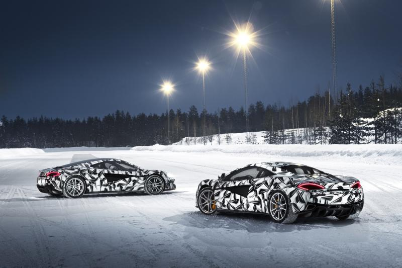 Stone-cold supercar: McLaren's ice driving program promises thrills and chills