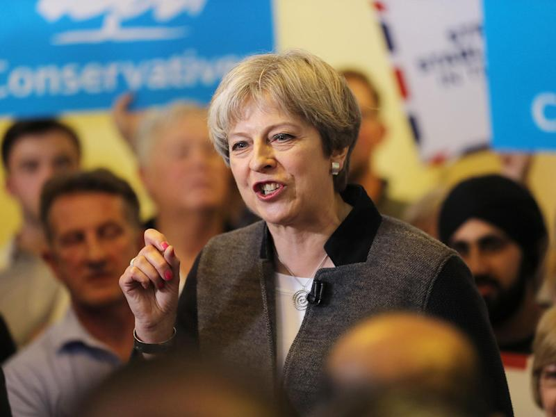 MPs suggest Ms May is isolated on the issue: Getty