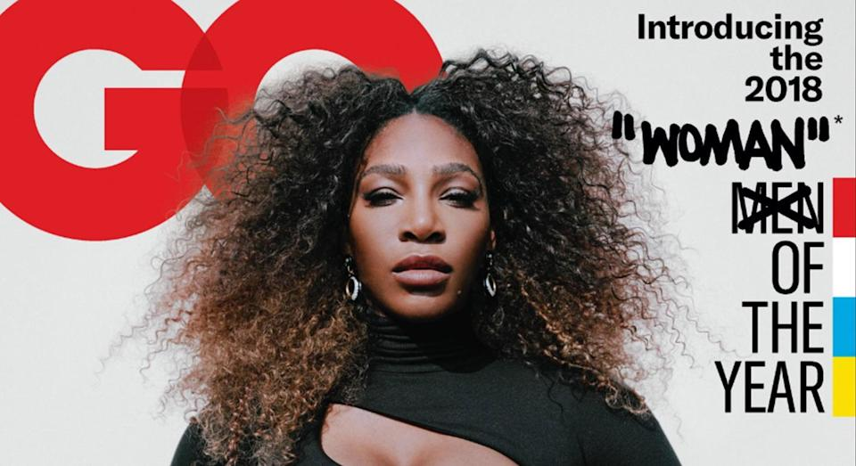 Serena Williams' GQ cover has sparked controversy on Twitter. [Photo: Twitter]