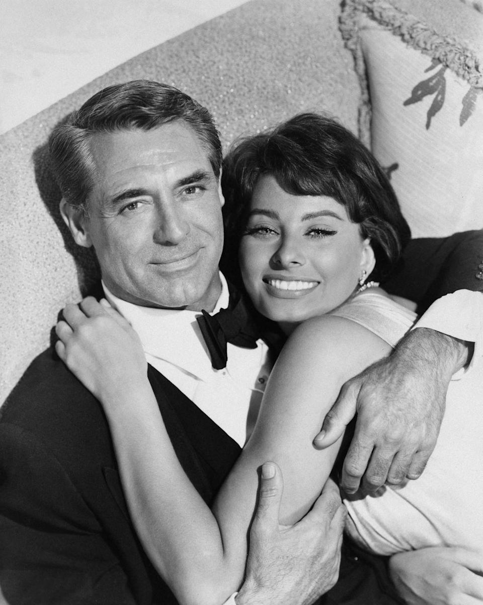 """<p>In 1958, Grant starred alongside Sophia Loren once again in the comedy <em>Houseboat</em>, with whom he was having an affair. Grant's wife, Drake, was the screenplay writer and had originally intended for the movie to star her and her husband. Much to her dismay, <a href=""""https://www.imdb.com/title/tt0051745/trivia"""" rel=""""nofollow noopener"""" target=""""_blank"""" data-ylk=""""slk:Loren replaced her as the female lead"""" class=""""link rapid-noclick-resp"""">Loren replaced her as the female lead</a>. </p>"""