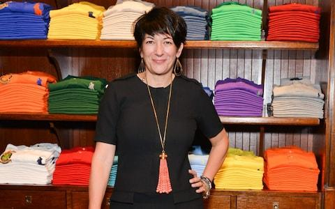 Ghislaine Maxwell attends Polo Ralph Lauren host Victories of Athlete Ally at Polo Ralph Lauren Store on November 3, 2015 - Credit: Patrick Mcmullan