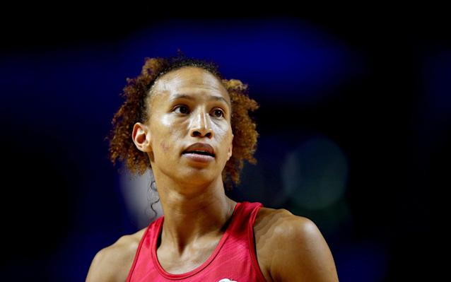 Serena Guthrie has helped England maintain a 100 per cent record in Liverpool - PA
