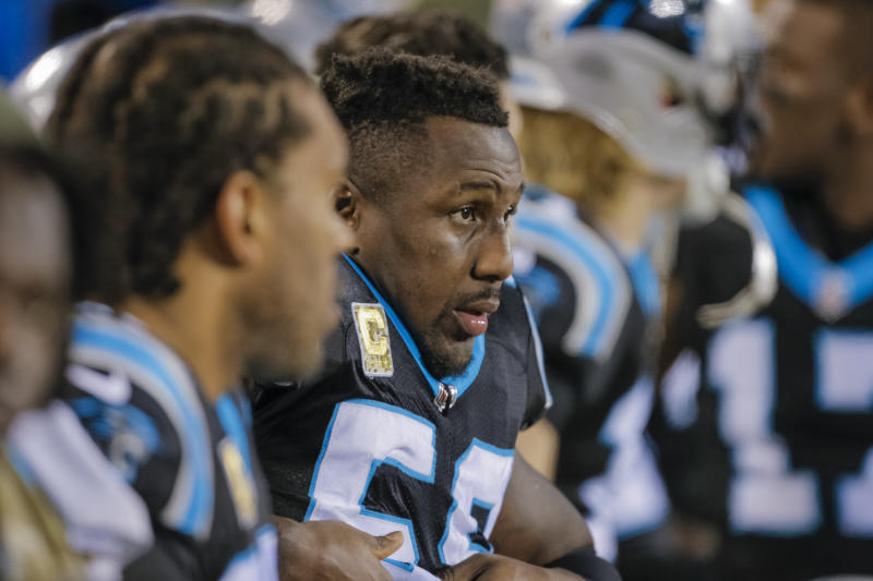 Thomas Davis has immediate regret on hit that injured Davante Adams