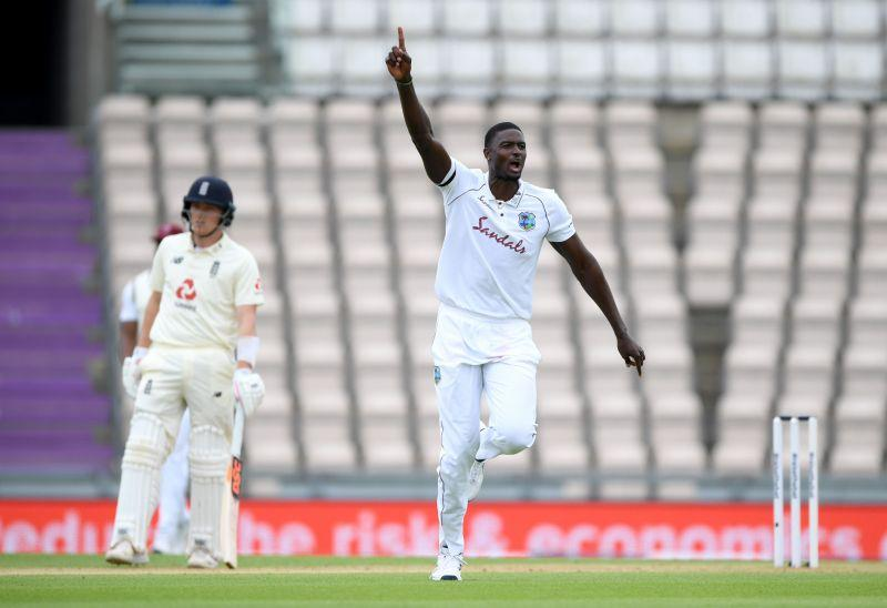 Jason Holder jolted England in the first innings at Rose Bowl with career best figures of 6 for 42.