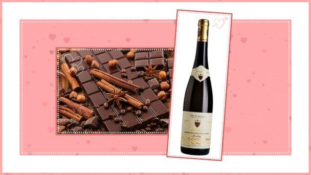 PHOTO: Chocolate and Wine Pairings for Valentines Day: Pair 5 (ABC News Photo Illustration)