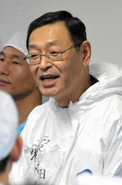 Former Fukushima plant manager Masao Yoshida died two years after the accident at the age of 58, but site operator Tokyo Electric Power has disputed whether his illness was linked to radiation (AFP Photo/-)