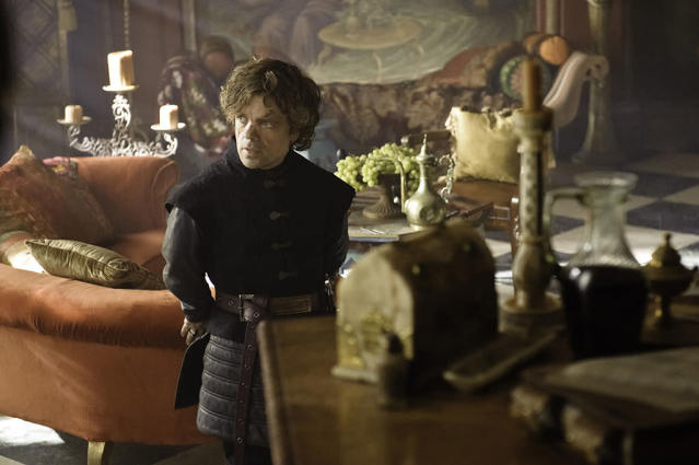 """Peter Dinklage in the """"Game of Thrones"""" Season 3 episode, """"Walk of Punishment."""""""