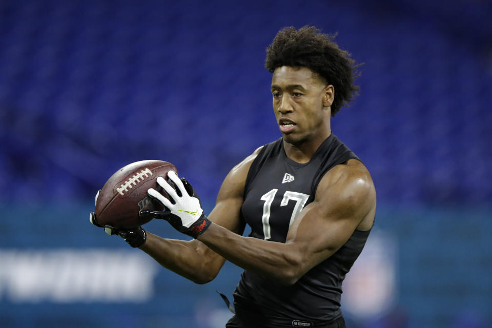 Liberty wide receiver Antonio Gandy-Golden was a fourth-round pick of the Washington Redskins. (AP Photo/Michael Conroy)
