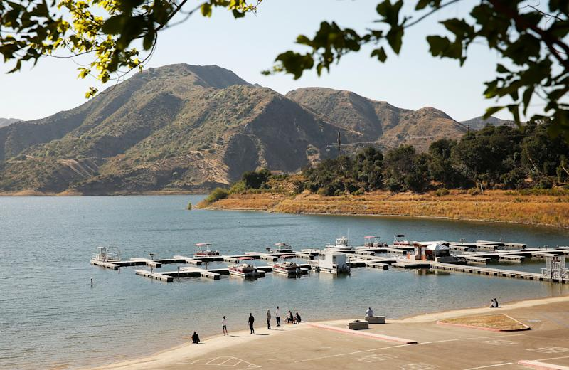Naya drowned at Lake Piru after the actor rented a pontoon boat and had been swimming with her son who was the last one to see her before she went missing. (Photo: Al Seib via Getty Images)