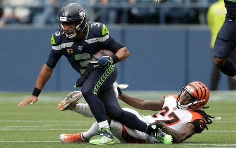 <span>Russell Wilson helped the Seahawks to a comeback victory</span> <span>Credit: AP </span>