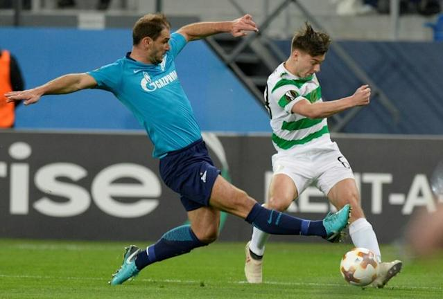 Branislav Ivanovic scored and set up another goal as Zenit knocked out Celtic