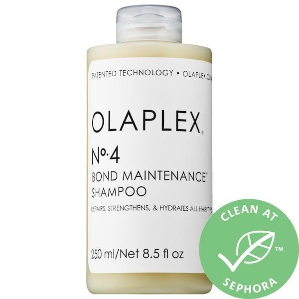 <p>I am currently living with my parents, and they hate the smell of my shampoo. Instead of getting side-eye at the breakfast table, I'm trying this <span>Olaplex No. 4 Bond Maintenance Shampoo</span> ($28) and <span>No. 5 Bond Maintenance Conditioner</span> ($28) instead.</p>