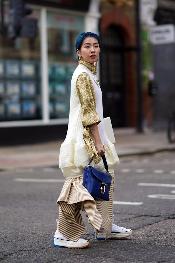 <p>While the chunky-platform trend was big in 2020, it is trucking along into 2021 as well, with brands like Dior and Pyer Moss continuing to reinvent the wheel. The newer iterations are definitely more wearable.</p>