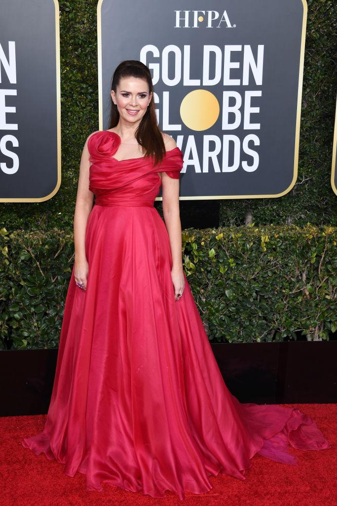<p>Carly Steel attends the 76th Annual Golden Globe Awards at the Beverly Hilton Hotel in Beverly Hills, Calif., on Jan. 6, 2019. (Photo: Getty Images) </p>