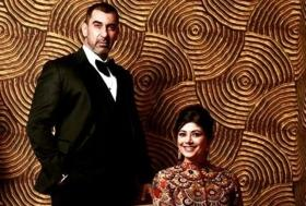 Newlyweds Nawab Shah, Pooja Batra attend Golden Globes after-party