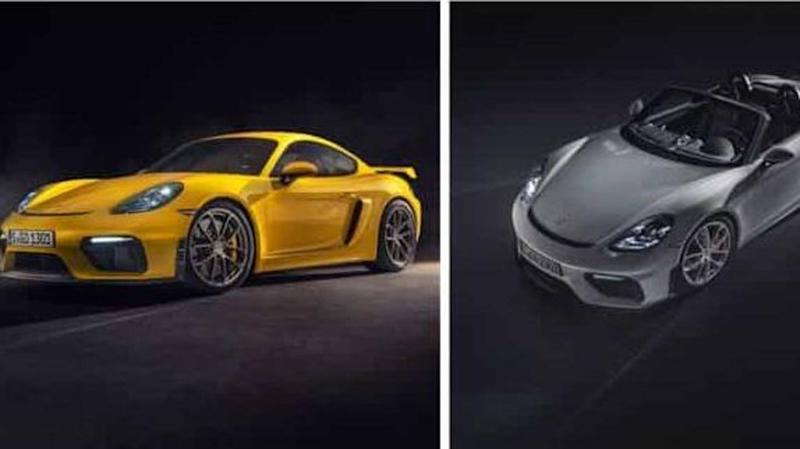 Porsche launches 718 Spyder and Cayman GT4 in India